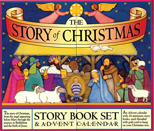 The Story of Christmas Story Book Set and Advent Calendar (Christmas Advent Calendar)