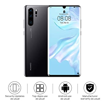 Huawei P30 Sd Karten Slot.Huawei P30 Pro 128 Gb 6 47 Inch Oled Display Smartphone With Leica Quad Ai Camera 8gb Ram Emui 9 1 0 Sim Free Android Mobile Phone Single Sim