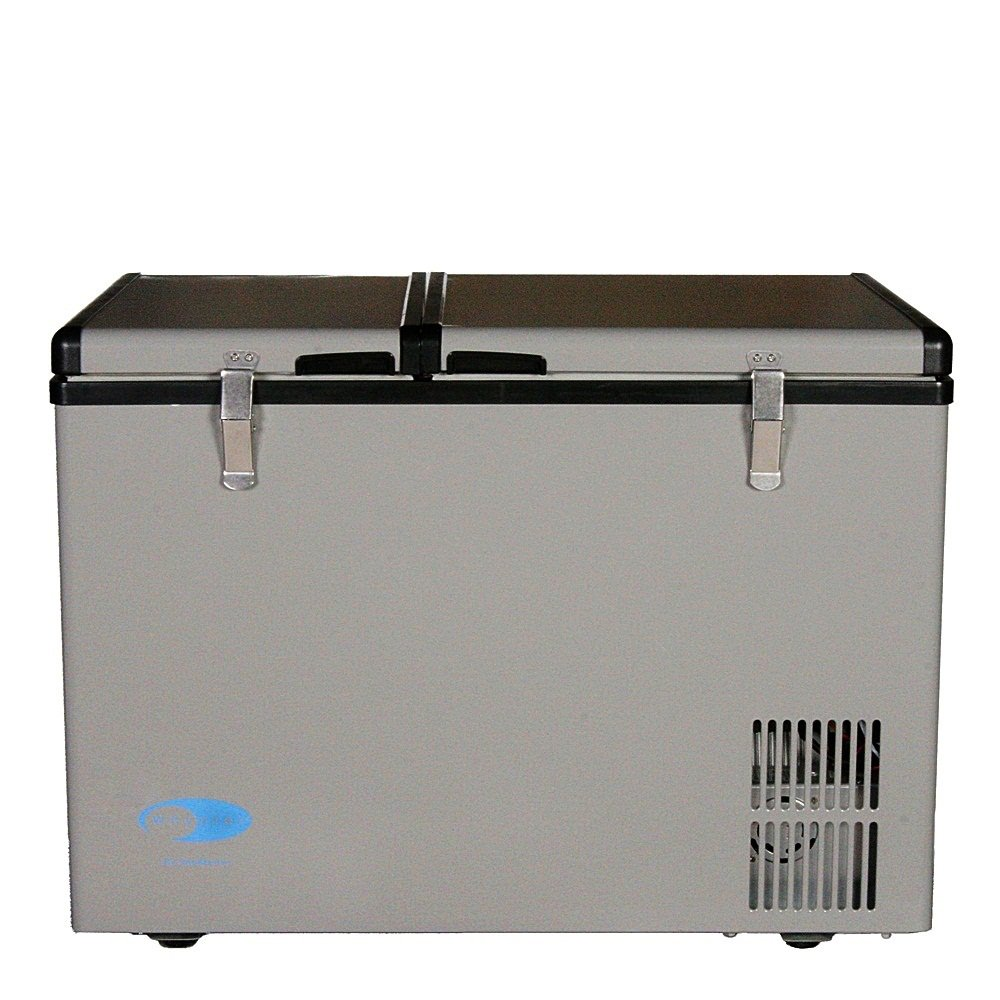 Whynter FM-62DZ 62 Quart Dual Zone Portable Fridge/Freezers One Size Gray