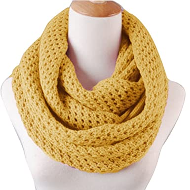 Butterme Mode Frauen Winter Warme Gestrickte Häkeln Hals Snood Schal