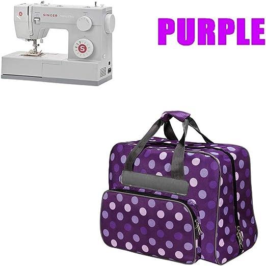 Bolsa de transporte para máquina de coser, gran capacidad, tejido ...