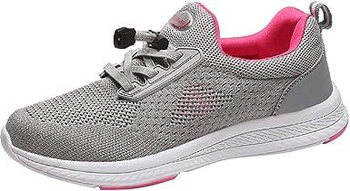 Zapatos Mujer Zapatos de Malla Tejida Zapatillas Bajas ...