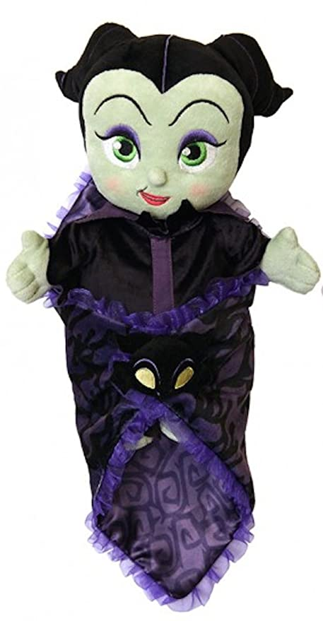 Disney Park Baby Maleficent In A Blanket 10 Inch Plush Doll
