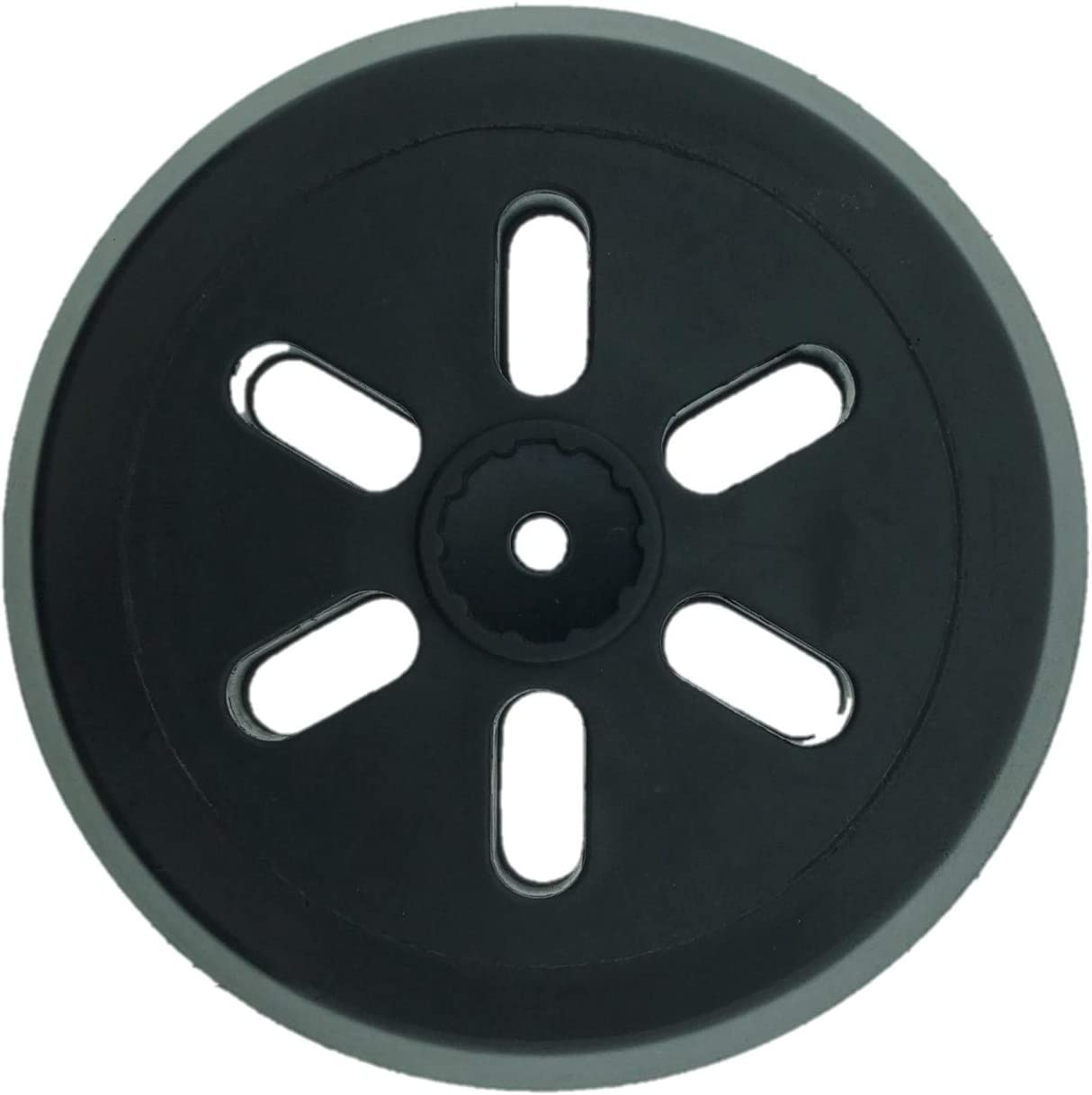 1 x SabreCut OSSCPB420 150mm 6 Hole Random Orbital Sander Hook /& Loop Backing Pad for Bosch GEX 150 AC GEX 150 Turbo PEX 420 Medium