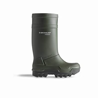 Dunlop C662933 Purofort Thermo+ Sicherheits Gummistiefel (43 EUR) (Grün)