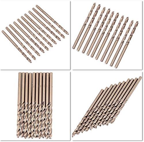 3.2mm Set Di Punte Per Trapano Frizione Al Cobalto M35 Set Di Punte HSS-CO Da 1,0-5,0mm Per Foratura Su Acciaio Inossidabile