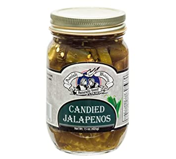 Amish Wedding Foods.Amish Wedding Foods Candies Jalapeno Peppers 15oz Glass Jar