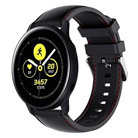 Amazon.com: Gear Sport/Gear S2 Classic reloj banda de correa ...