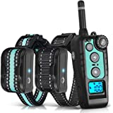 TOKEGO Dog Training Collar 2 Dogs, 1500FT Remote Rechargable & Waterproof Electric Shock Collar with Beep, Vibration and…