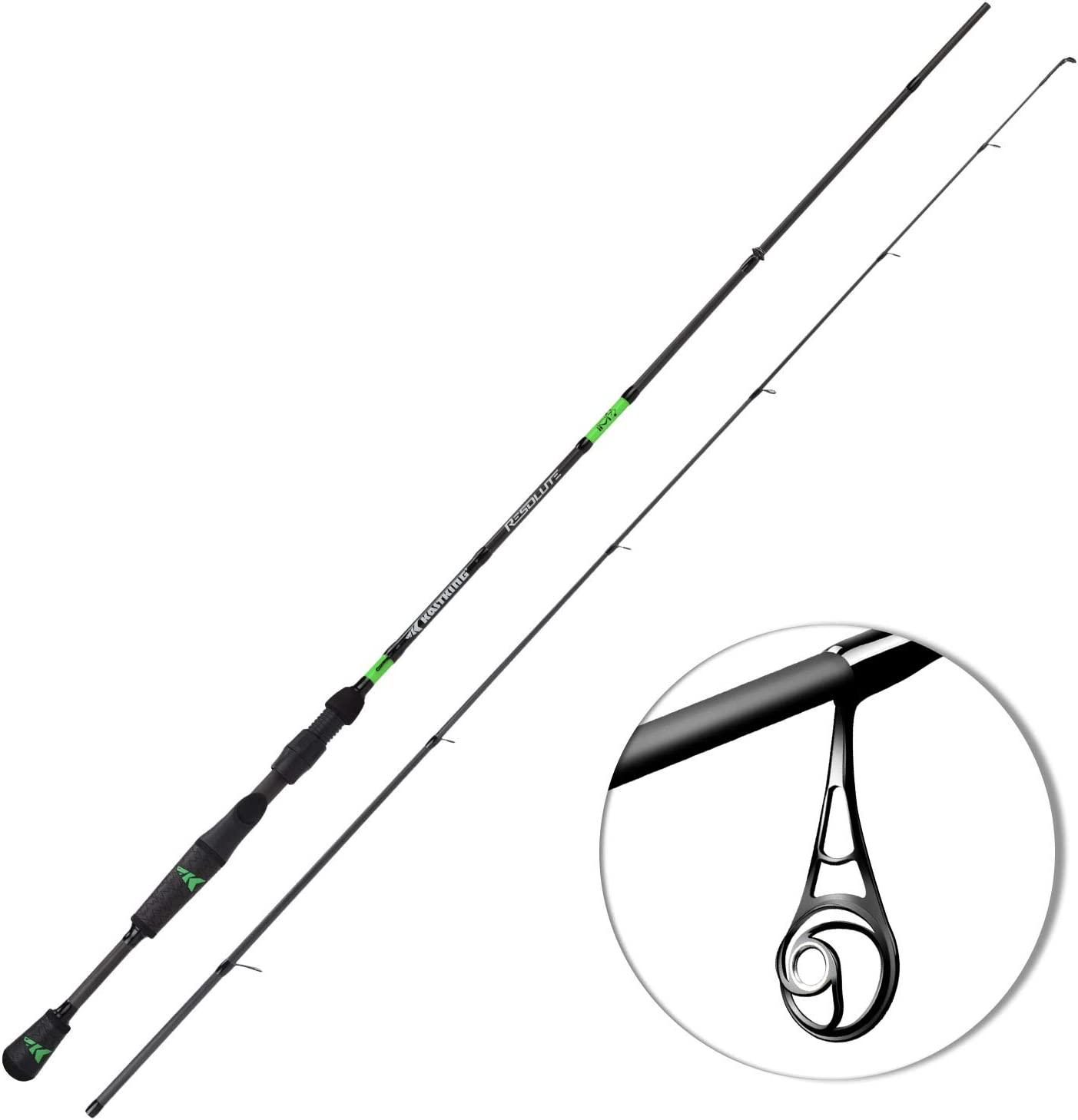 KastKing Resolute Fishing Rod (6'0 2PC)