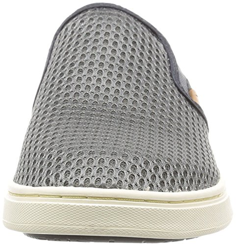 OluKai Pehuea Slipper - Womens Charcoal/Dark Shadow 7