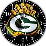 Packers Frameless Borderless Wall Clock F123 Nice For Gift or Room Wall Decor