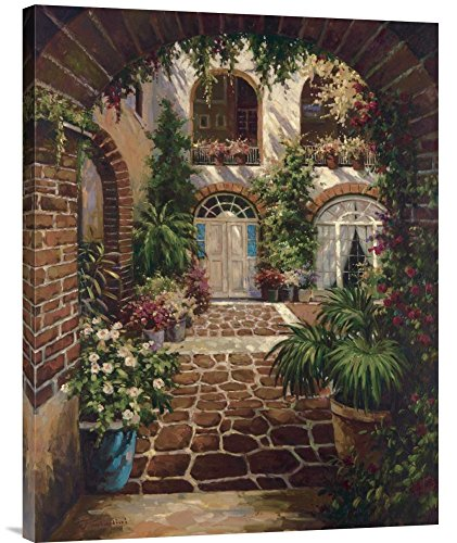 Twindini Courtyard - Global Gallery GCS-123255-2432-142