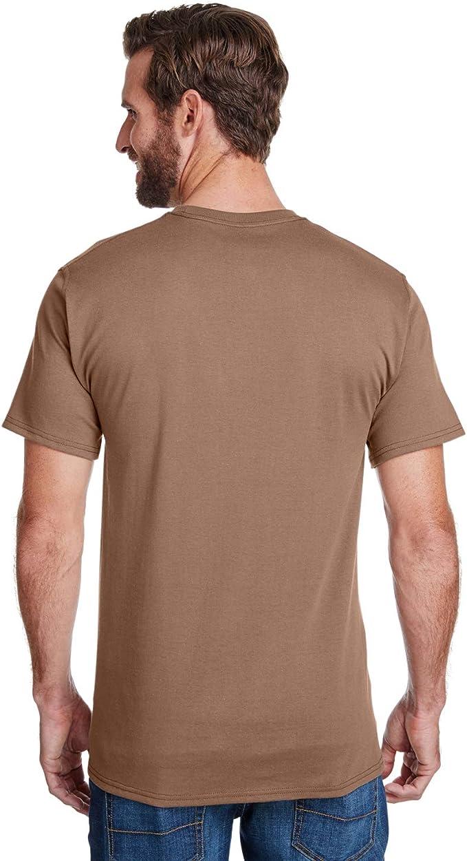 W110 Hanes Adulte Workwear T-shirt à poche