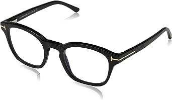 Tom Ford FT5532-B Blue-Light Block With Clip On 01V New Men Sunglasses