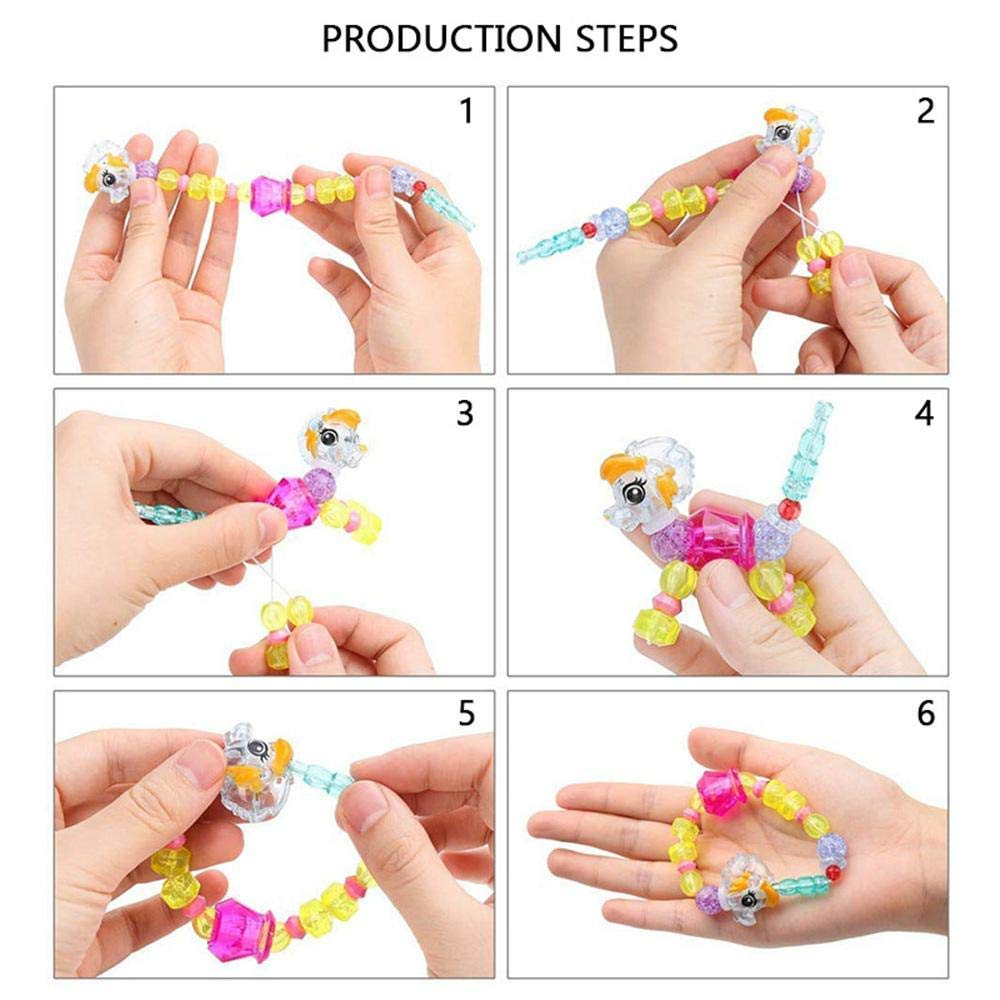 Lion Bugou jouets pour enfants bracelet de magie color/é animal animal main corde enfants bracelet de d/éformation cadeau enfants
