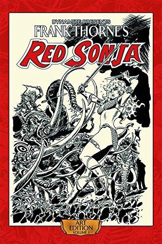 Download Frank Thorne's Red Sonja Art Edition Volume 3 HC pdf