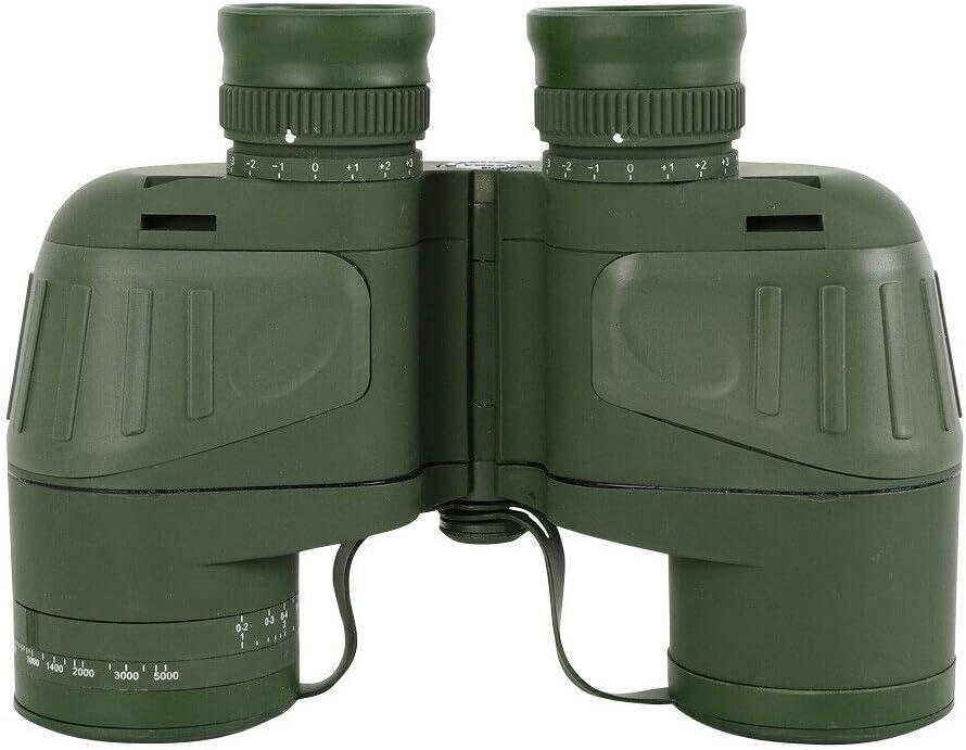 Prismáticos compactos para adultos, para viajes, caza, safari, observación de aves, senderismo, con brújula y accesorios