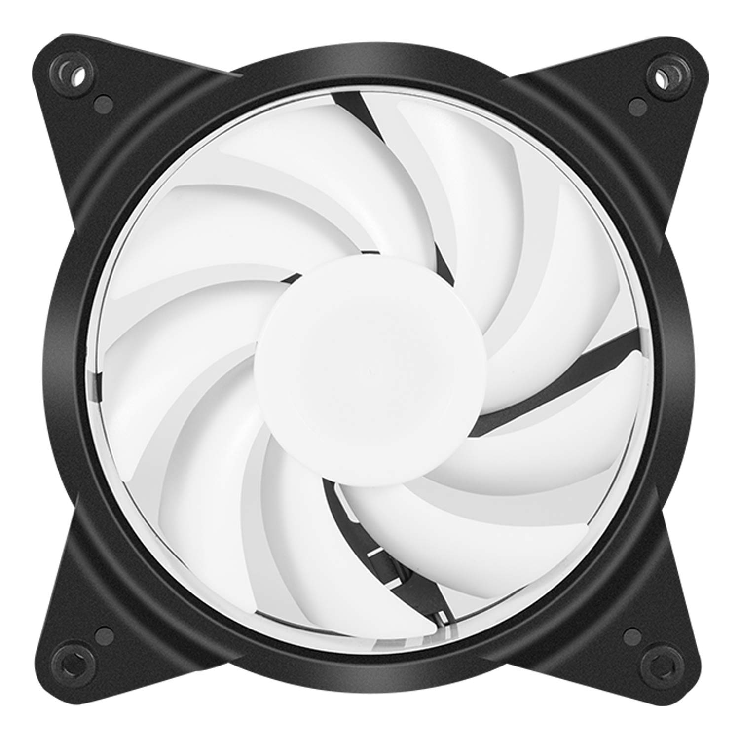upHere 6-Pack 120mm Silent Intelligent Control Addressable RGB Fan Adjustable Colorful Fans with Controller and Remote,T6C63-6 by upHere (Image #7)