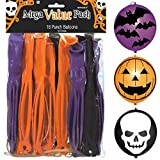 "Toys : Amscan Creepy Halloween Ghoulish Punch Balloon (16 Piece), Multicolor, 12"" x 7 1/2"""