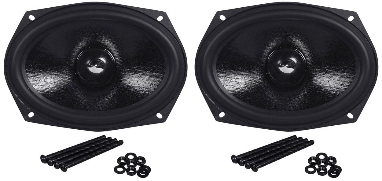 (2) Rockville RVL69W 6x9'' Competition Woofers Totaling 300 Watt RMS And 600 Watt Peak, 2'' Voice Coils, Double Stacked 70 Oz Magnets, And The Best Sound Quality