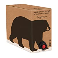 Wandering Bear Organic Cold Brew Coffee On Tap, Straight Black, No Sugar, Always...