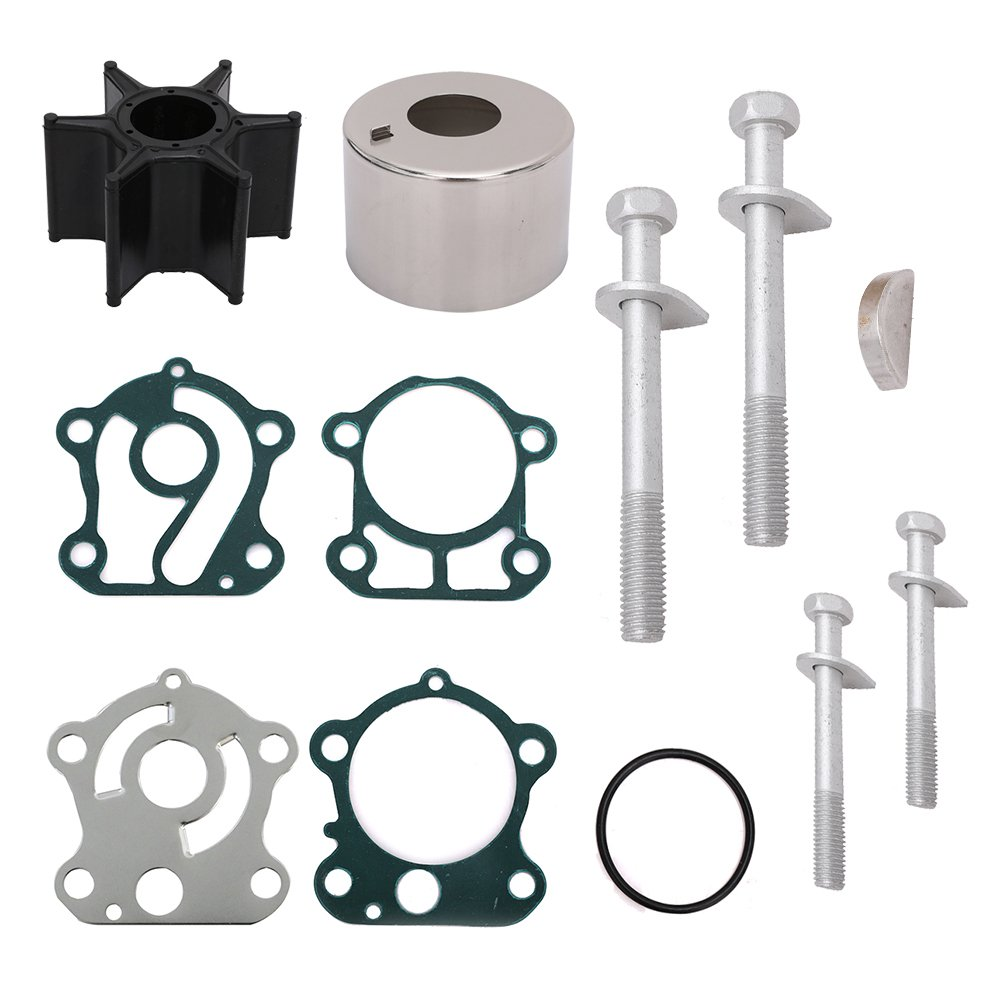 Water Pump Repair Kit 67F-W0078-00-00 18-3451 for Yamaha F75 F80 F90 F100 Outboard (a) Yikesai