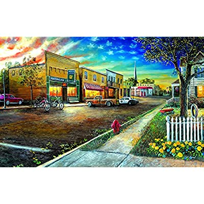 Home of The Brave 1000 Piece Jigsaw Puzzle by SunsOut: Toys & Games