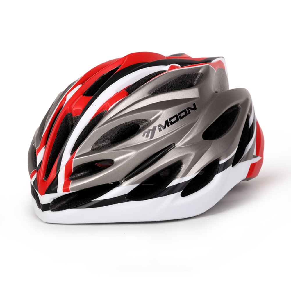 YXINY Helme YS-35 Cycle Bike Helm PC + EPS Männer und Frauen 27 Air Vents Allround Helme M/L Allround-Helme (Farbe : 007, größe : L-58-61cm)