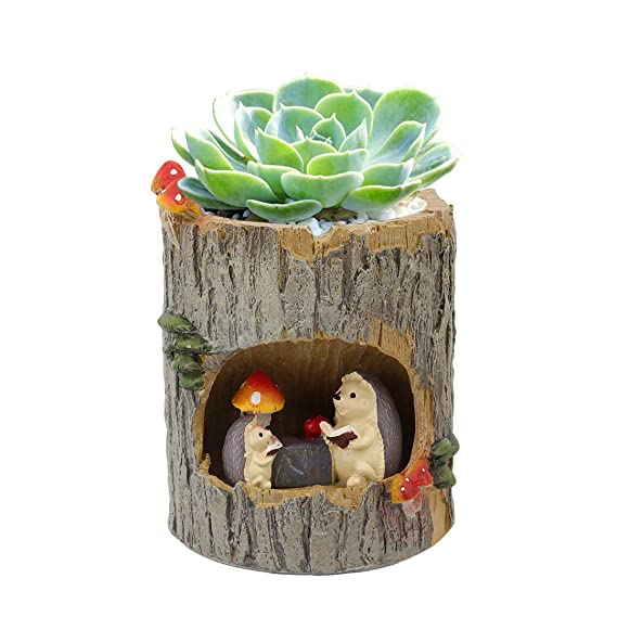 Hedgehog Flower Pot | Housewarming gift for hedgehog lovers