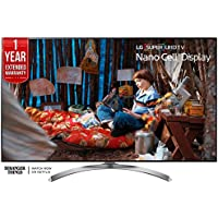 LG 55-inch Super UHD 4K HDR Smart LED TV 2017 Model (55SJ8500) with Additional 1 Year Extended Warranty