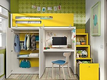Amazing bureau pour chambre de fille lit mezzanine fille lit