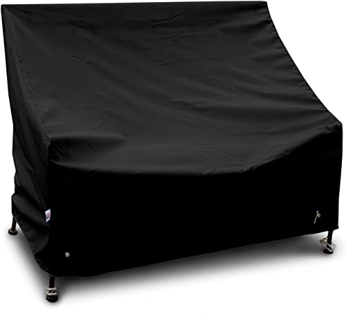 KoverRoos Weathermax 72450 3-Seat Glider Lounge Cover, 78-Inch Width by 38-Inch Diameter by 30-Inch Height, Black