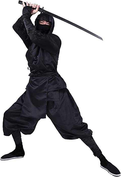 Amazon.com: Keppler Mens Black Ninja Costume Adult ...
