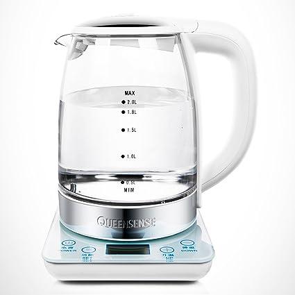 XUEQIN Hervidores y dispensadores de agua caliente Calentador eléctrico Pantalla de cristal líquido LCD Calefacción Chasis