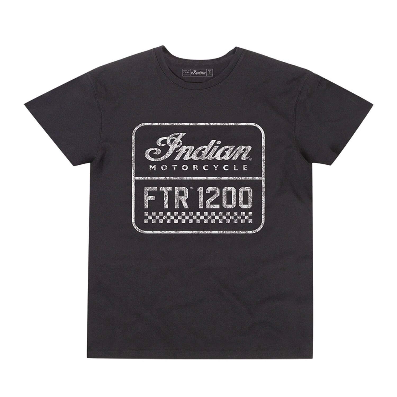 Black Indian Motorcycle Mens FTR1200 Logo T-Shirt
