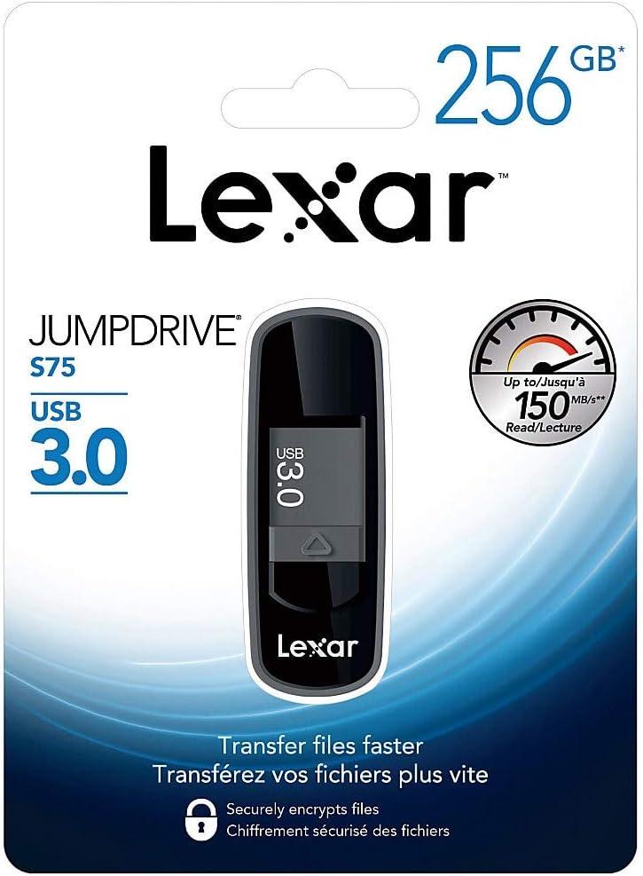 New Lexar JumpDrive S75 USB 3.0 64GB