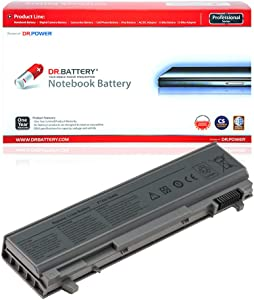 DR. BATTERY Laptop Battery Compatible with Dell 4M529 Battery PT434 KY265 Laptop Battery Latitude E6400 E6410 E6500 E6510 Precision M4500 M4400 4N369 451-10583 NM631 FU444 KY470 [11.1V/4400mAh/49Wh]