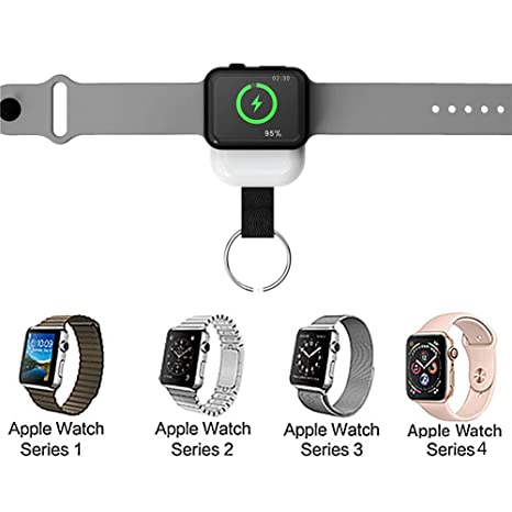KiGoing Cargador inalámbrico, W4 Apple Watch 1/2/3/4 ...