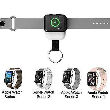KiGoing Cargador inalámbrico, W4 Apple Watch 1/2/3/4 ...