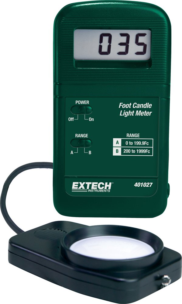 Extech 401027 Pocket Sized Candle Light Meter FLIR Commercial Systems Inc.