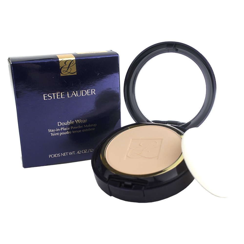 Estee Lauder Double Wear Stay-in-Place Powder Makeup 2C1 Pure Beige 0.42 Ounce