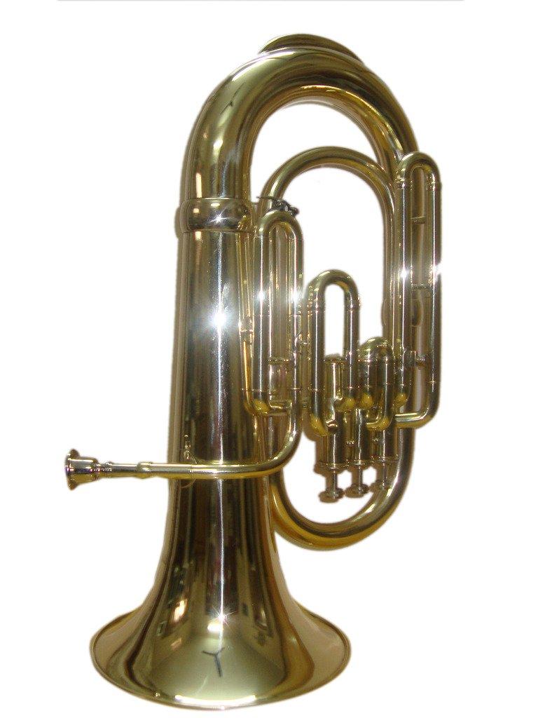 OSWAL Bb Flat Brass Finishing Euphonium With Free Hard Case+M/P 1009