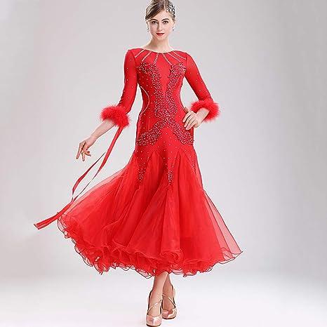 Wangmei Vestidos Espectáculo de Danza Clásica Moderna Falda Grande ...