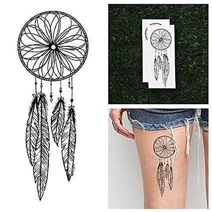 Tatuaje Temporal Tattify - Atrapasueños - Atrapar (Juego de 2 ...