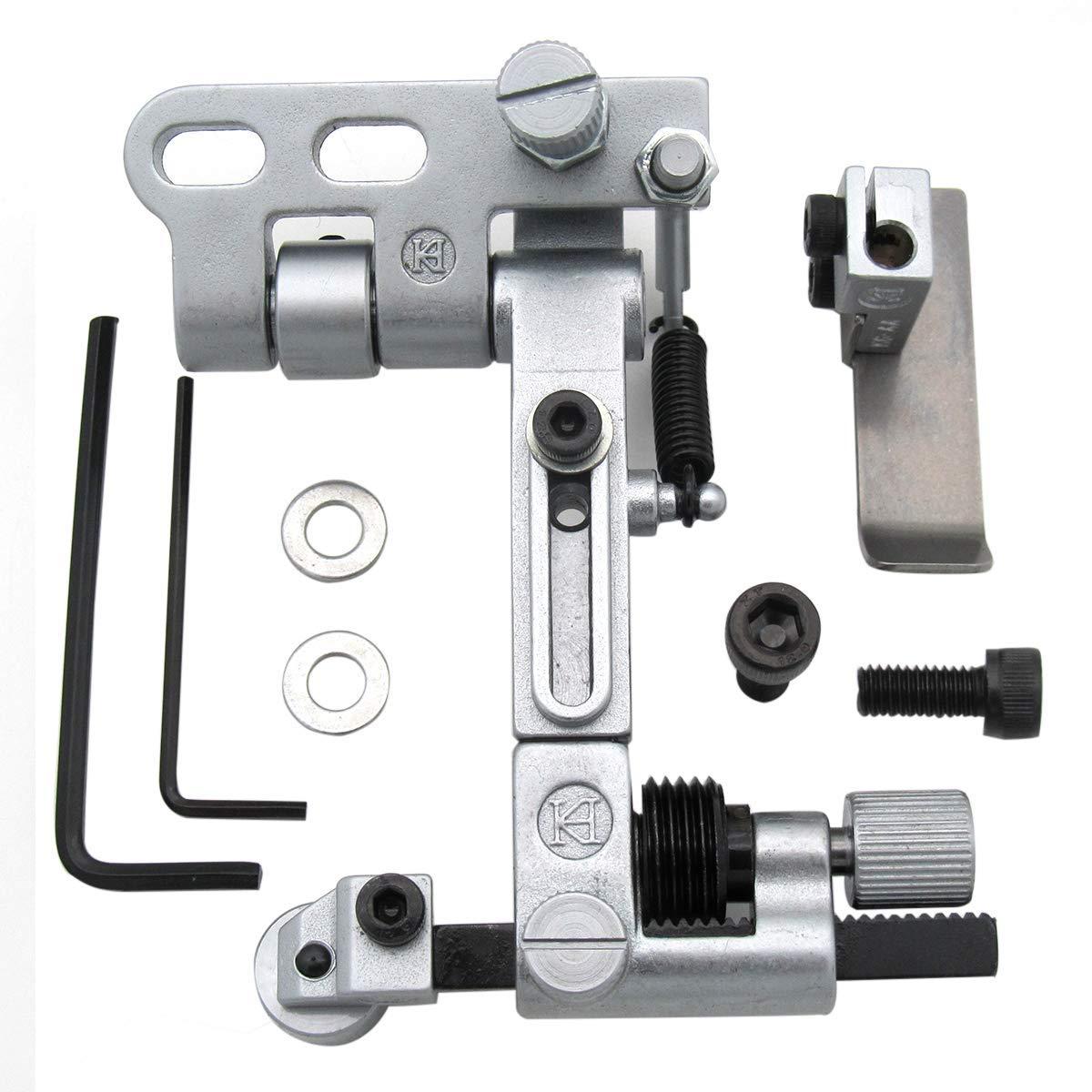 CKPSMS Brand - #KG867A Suspended and Adjustable Guide fit for Pfaff 1245/335 Durkopp Adler 767 Juki DNU-1541/2210 by ckpsms