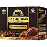 Ganoderma Coffee - Reishi Coffee Mix- Instant 2-in-1 Mushroom Coffee. All Natural Ganoderma Lucidum With Instant Coffee. A No