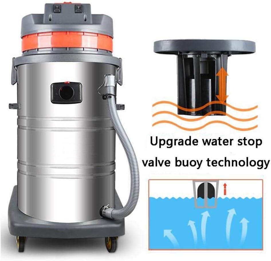 XGHW Aspirador Industrial 2000W Fuerte Alta Potencia 80L máquina ...