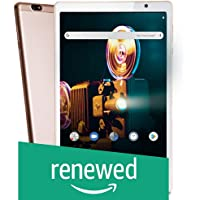 (Renewed) iBall iTAB MovieZ Pro Tablet (10.1 inch, 64GB, Wi-Fi + 4G LTE + Voice Calling), Champagne Gold