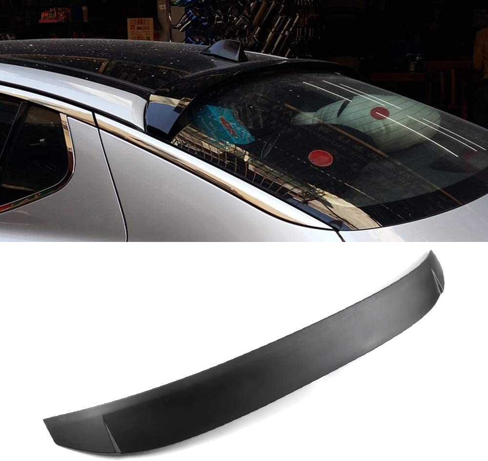 SCITOO Carbon Fiber Universal Black Rear Trunk Spoiler Wing Exterior Accessories Styling Kits Replacement